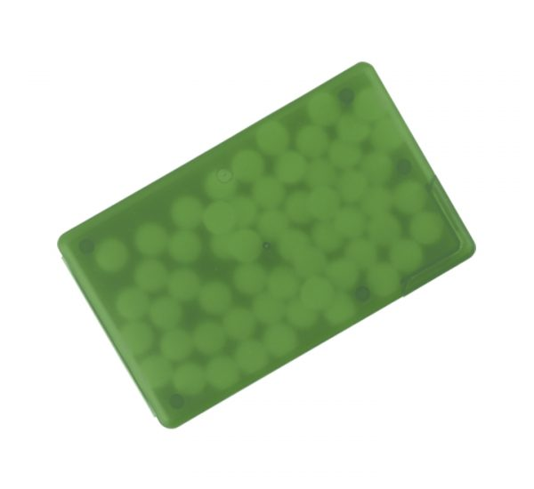 Promotional Mint Cards-green