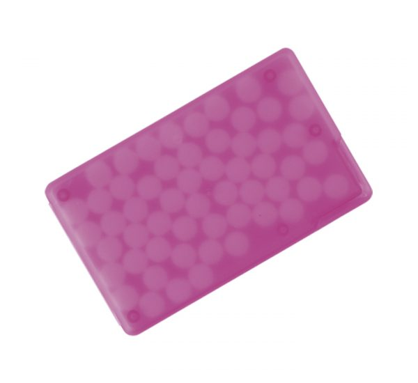 Promotional Mint Cards-pink