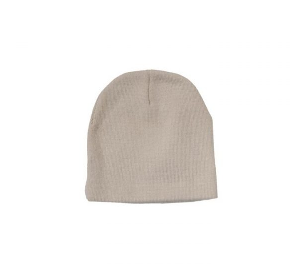 Promotional Roll Down Beanie Hat-stone