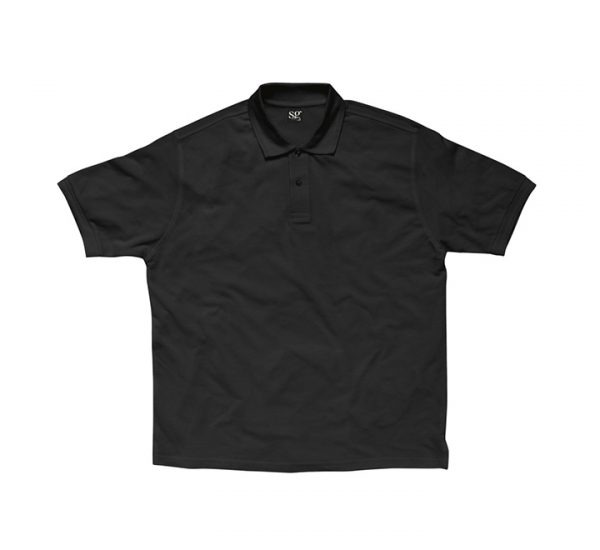 Promotional company polo shirt-black