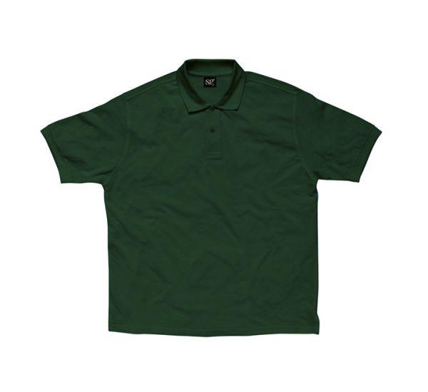 Promotional company polo shirt-bottle-green