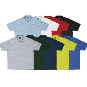 Promotional company polo shirt-group