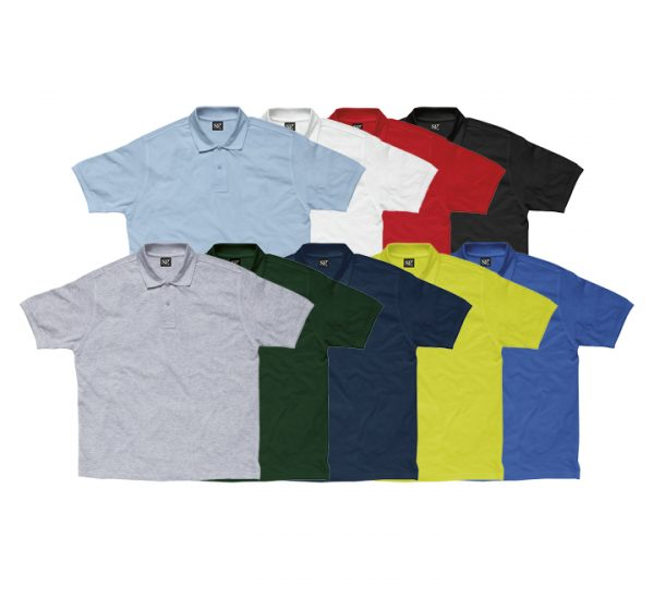 Promotional company polo shirt-group