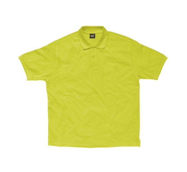 Promotional company polo shirt-lime