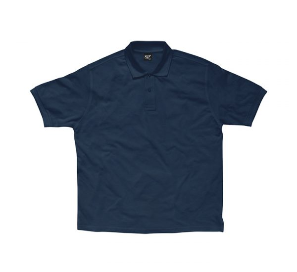 Promotional company polo shirt-navy