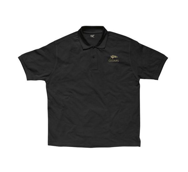 Promotional company polo shirt-printed