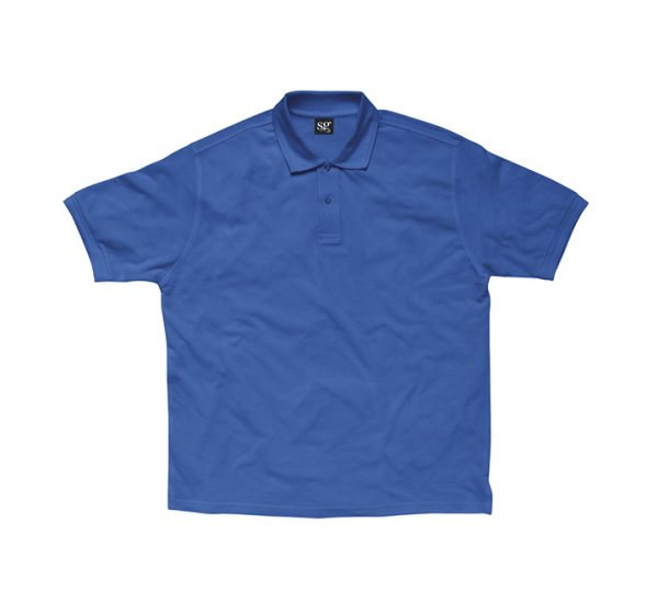 Promotional company polo shirt-royal-blue