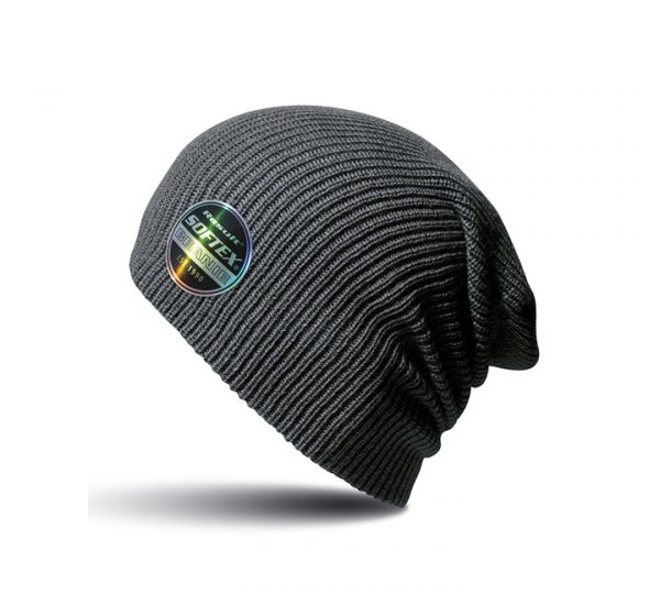 Result Core Softex Beanie-charcoal