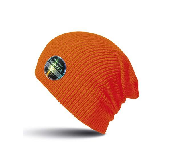 Result Core Softex Beanie-fluorescent orange