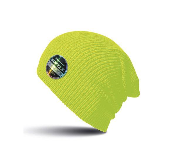 Result Core Softex Beanie-fluorescent yellow