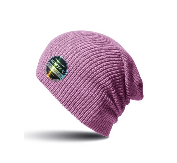 Result Core Softex Beanie-ribbon pink