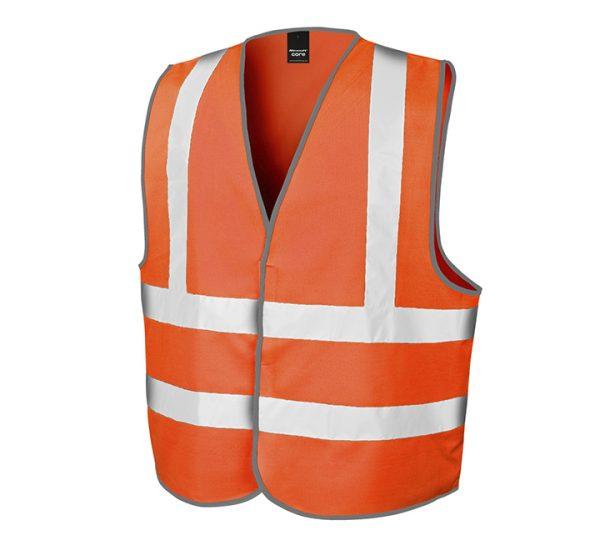 Result Safety Hi-Vis Vest-orange
