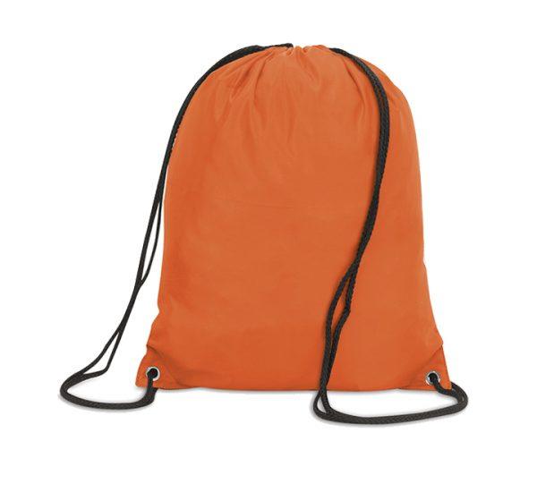 Stafford Promotional Drawstring Rucksack-orange