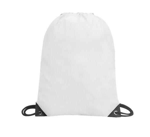Stafford Promotional Drawstring Rucksack-white