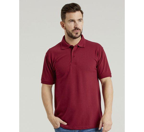 Ultimate Pique Polo-burgundy
