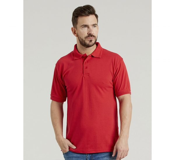 Ultimate Pique Polo-red