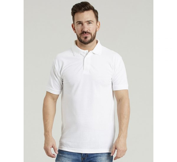 Ultimate Pique Polo-white