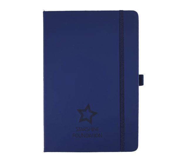 Ultimate A5 Promotional Notebook in Navy Blue