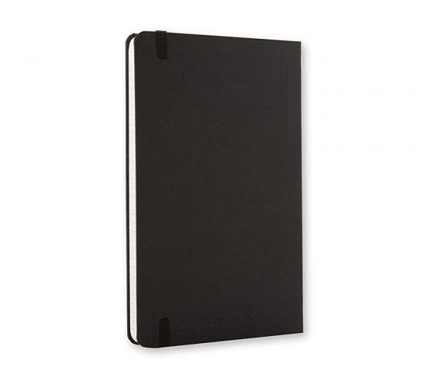 A5 Branded Moleskine Notebook - back