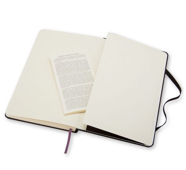 A5 Branded Moleskine Notebook - envelope