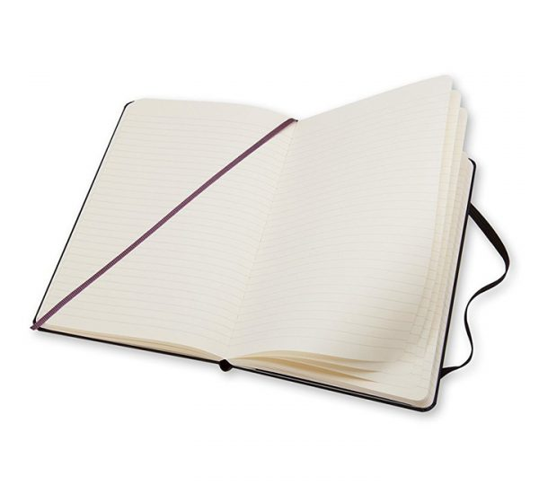 A5 Branded Moleskine Notebook - pages