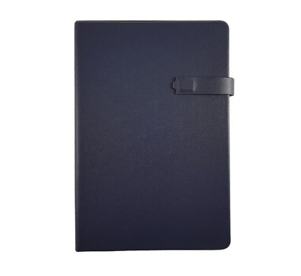 Premium Regency A5 Executive notebook-magnetic-navy