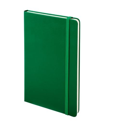 Branded Moleskine Notebook - green