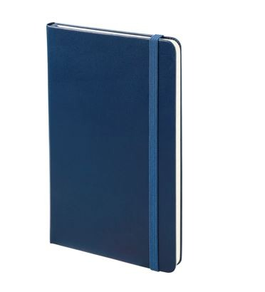 Branded Moleskine Notebook - navy blue
