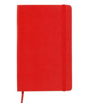Branded Moleskine Notebook - red