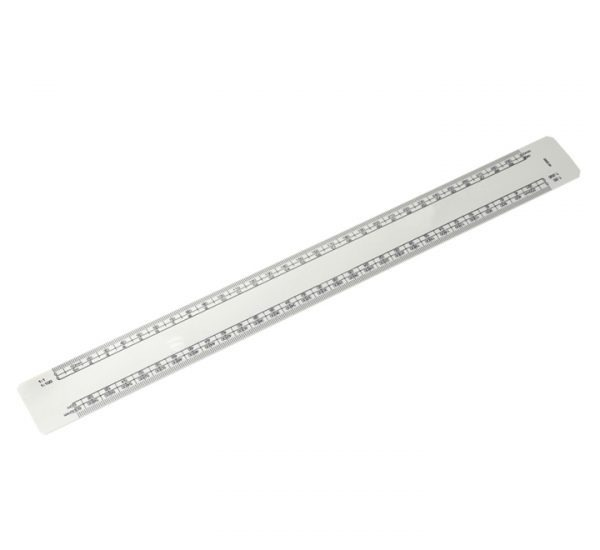 300mm Branded Scale Ruler