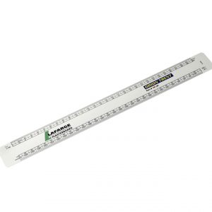 300mm Branded Scale Ruler-printed