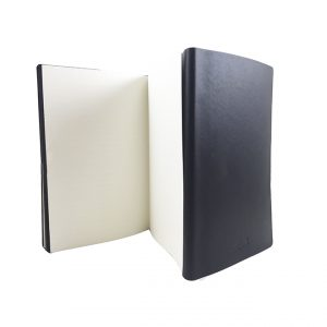 A5 Double Sided Regency notebook-open