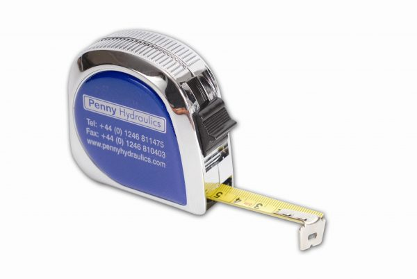 CH05 Chrome Promotional Tape Measure 5m