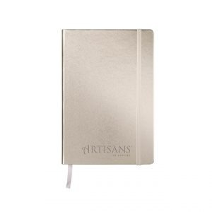 Premium A5 Regency Notebook Rose Gold-embossed