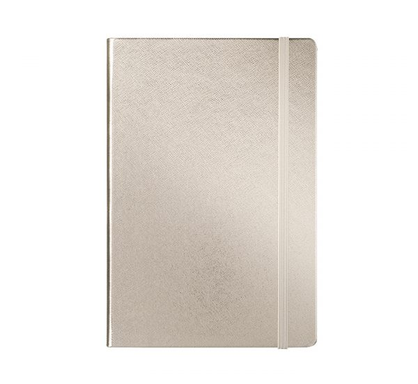 Premium A5 Regency Notebook Rose Gold - front