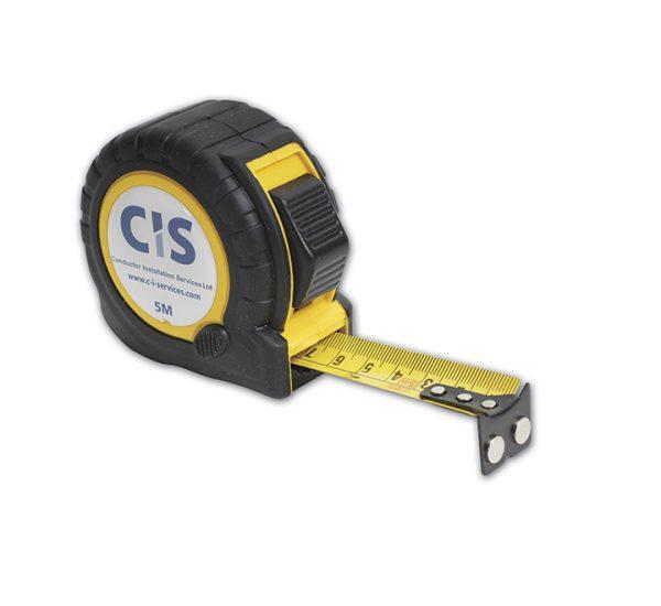 Printed 5 metre magnetic hook tape measure