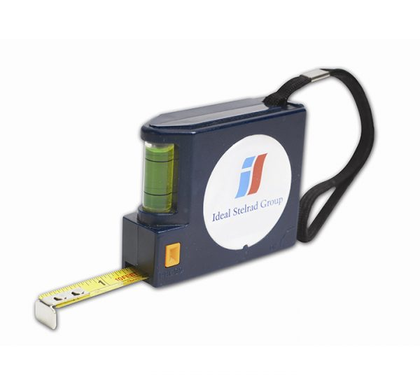 Promotional 5 Metre Tape Measure with Spirit Level