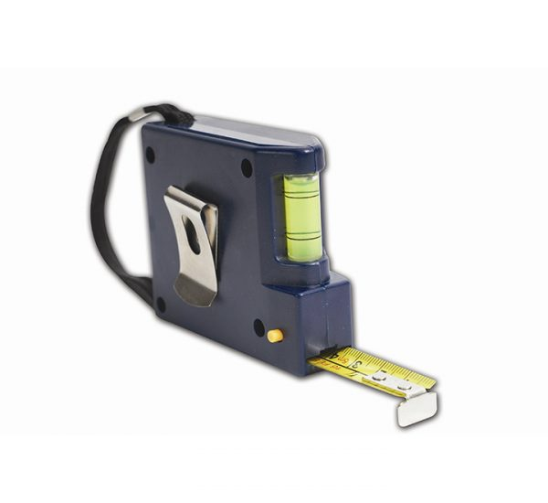 Promotional 5 Metre Tape Measure with Spirit Level-back