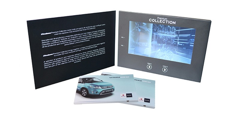 Promotional Video Card Brochure