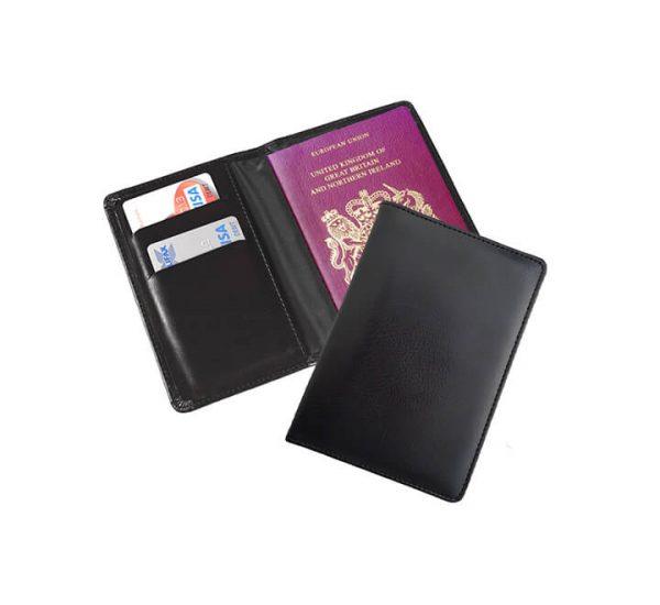 Branded Passport Wallet-inside