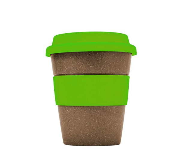Bamboo Fibre Cup-Green-side