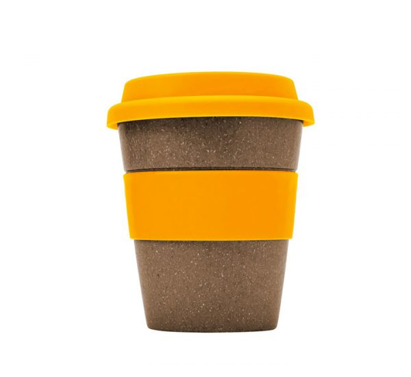 Bamboo Fibre Cup-Orange
