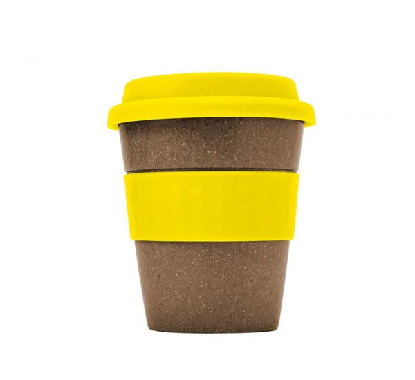 Bamboo Fibre Cup-Yellow