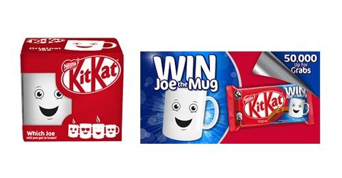 Kit Kat Mug campaign