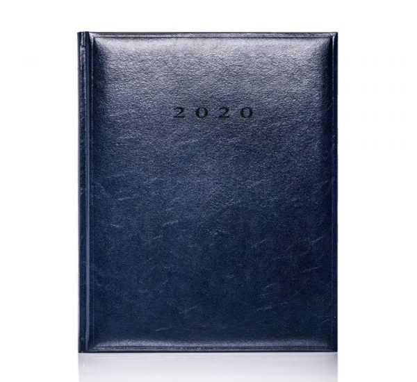 Promotional Quarto Colombia 2020 Diary - Blue