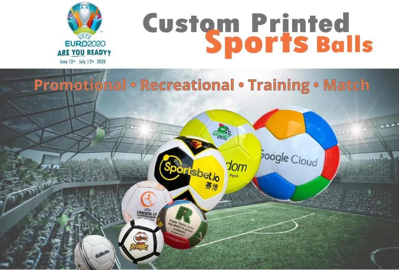 Custom Printed Footballs Euro 2020