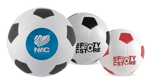 Printed Stress Footballs with your logo