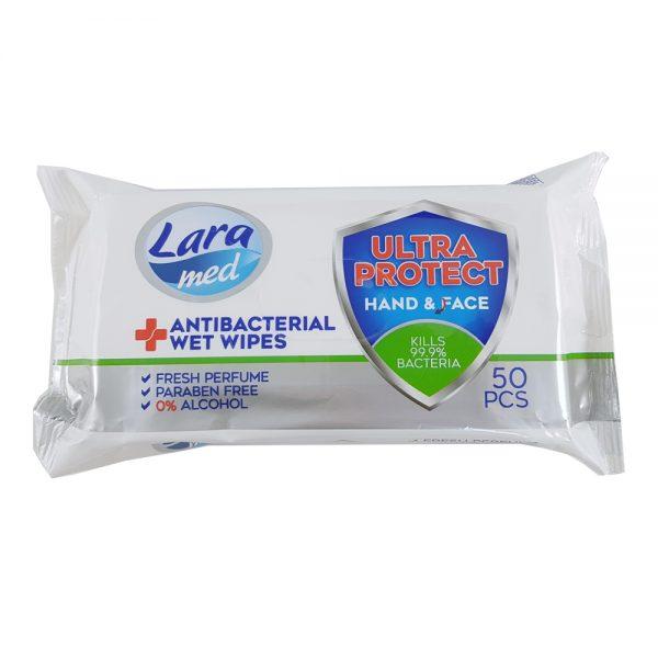 50 Antibacterial Wipe Pack
