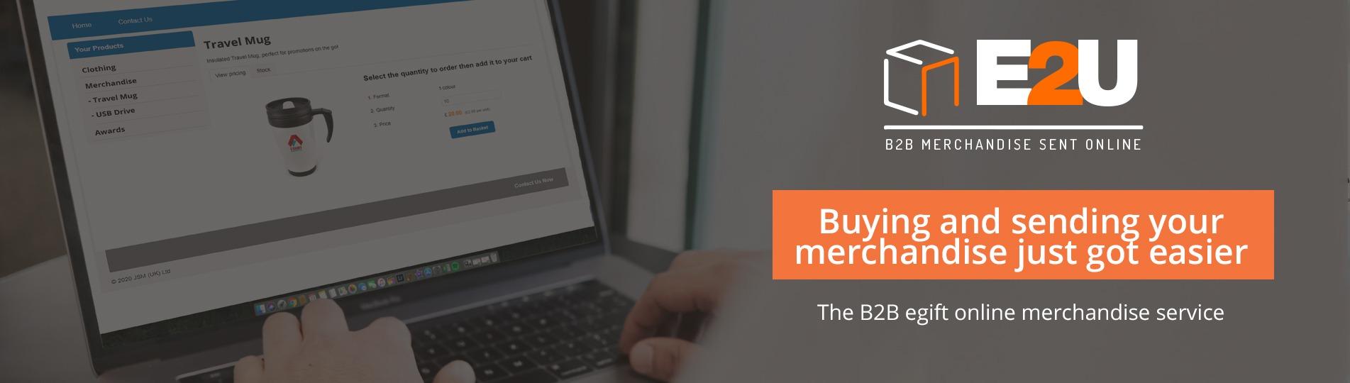 E2U B2B Promotional Merchandise Solution