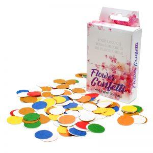 Seed Paper Confetti Box